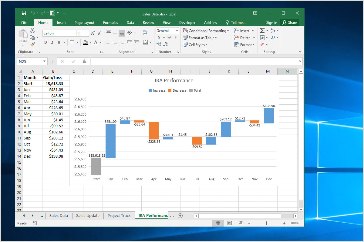 10 spiffy new ways to show data with Excel