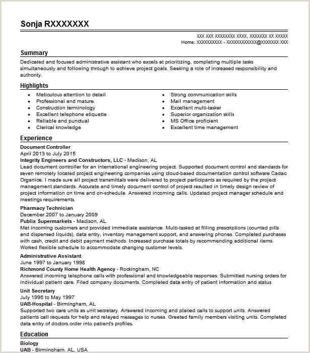Document Controller Resume Sample Resumes Misc
