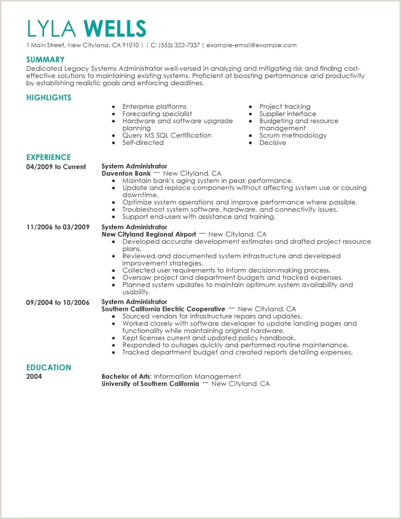 Windows Administrator Resume Resumes Windows System Administrator Resume format Doc Admin