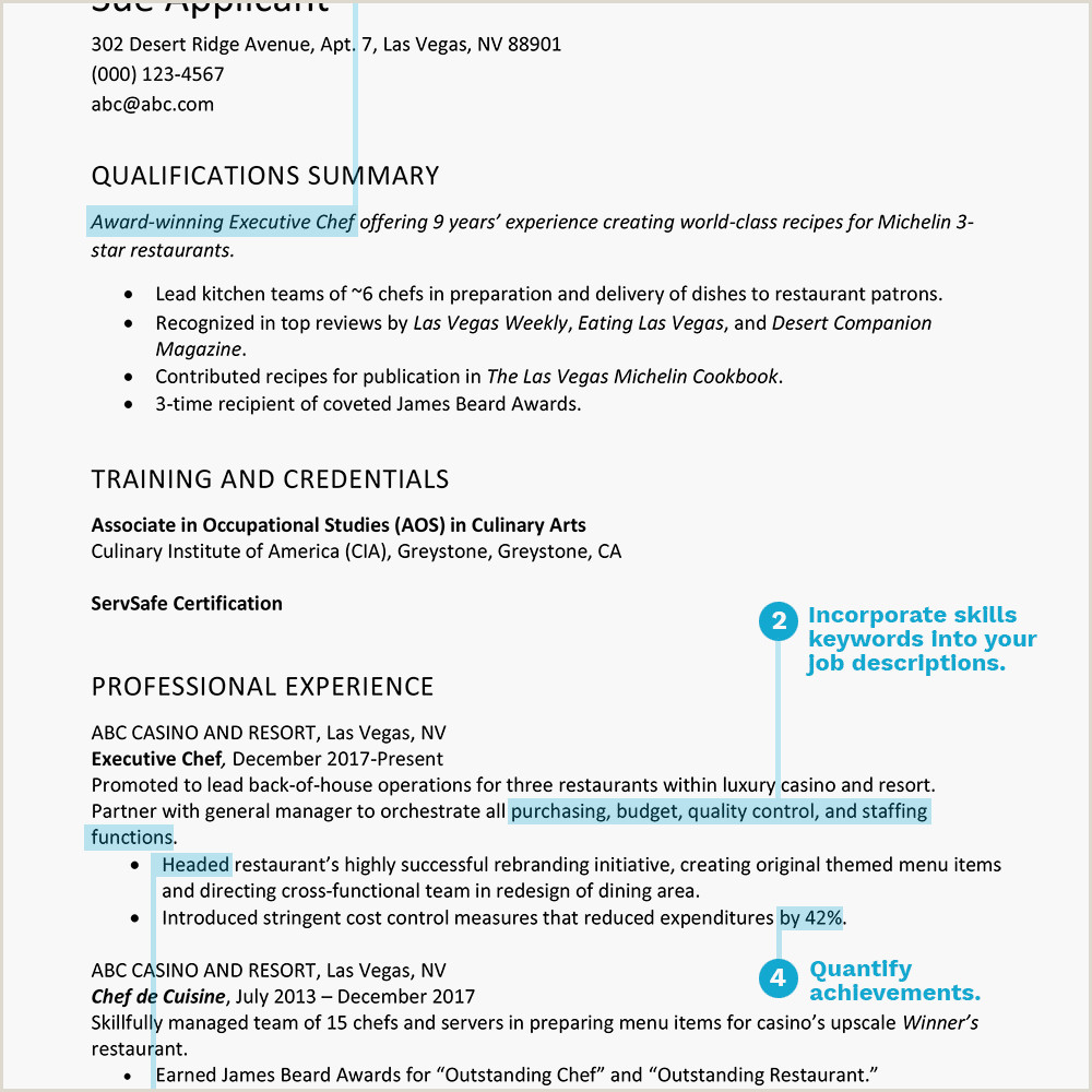 World Standard Cv format Best Resume Examples Listed by Type and Job