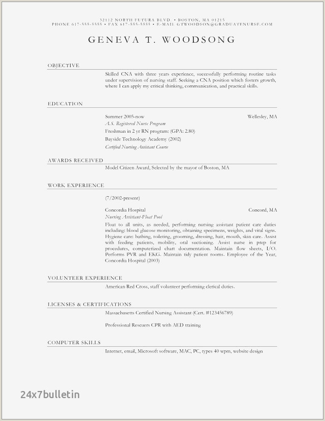 Wpm On Resume Example Best Skin Care Resume
