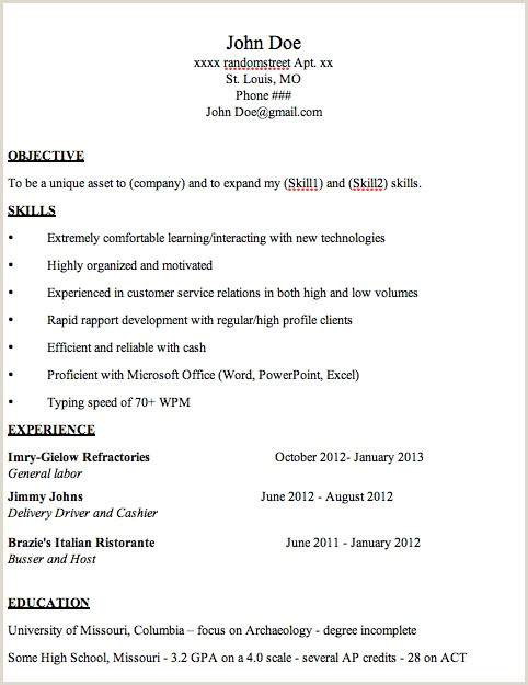 Wpm On Resume Example Resume Objective for Customer Service Sample Sample Career