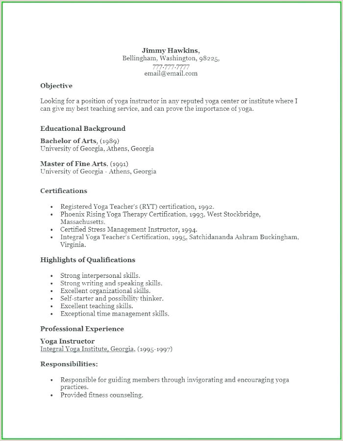 masters degree resume template