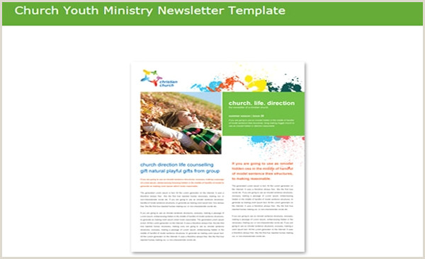 Youth Group Newsletter Template 80 Best Newsletter Templates 2018