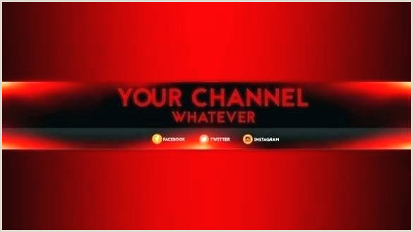 Channel Art Template Inspirational Free Banner Download New