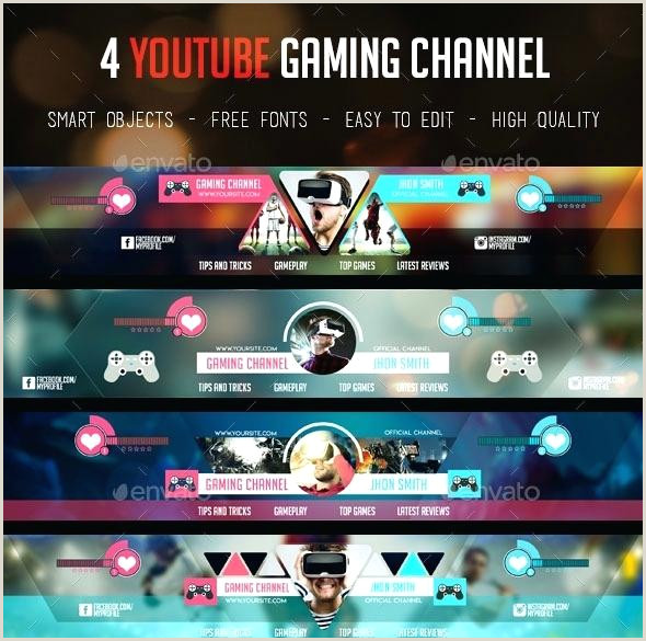 Youtube Gaming Banner Template Psd Free Youtube Banner Template – atamvalves