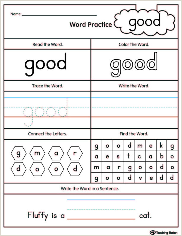 Beginner Kindergarten Reading Worksheets