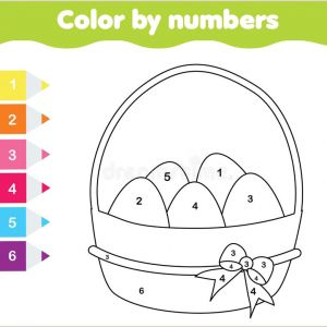 Bird Color by Number Worksheets