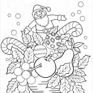 Christmas Color by Number Worksheets Printables