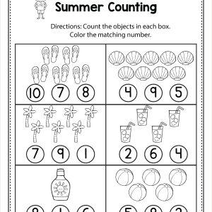 Color by Number Addition Worksheets for Kindergarten