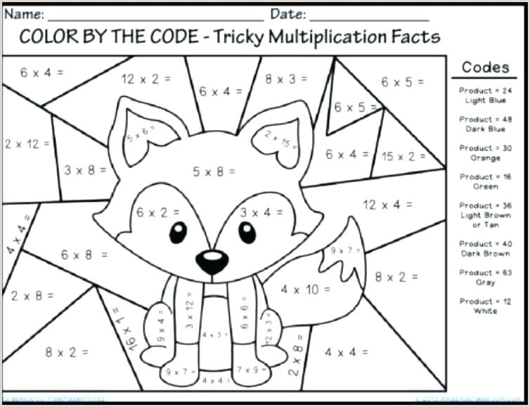 Color By Number Addition Worksheets Free Printable