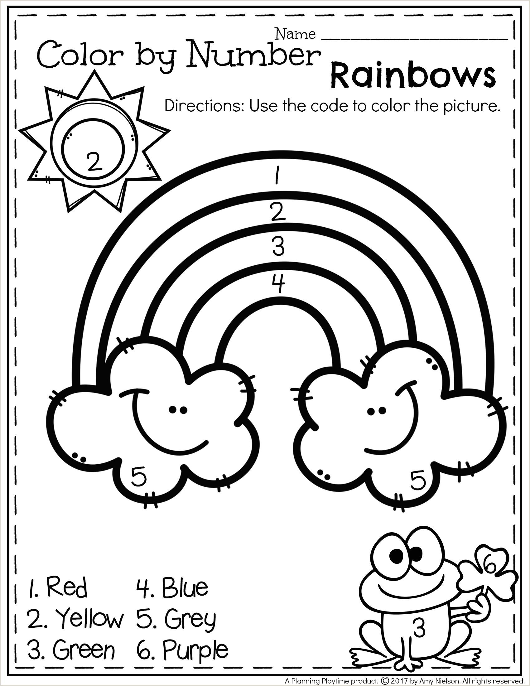Color By Number Addition Worksheets Pdf