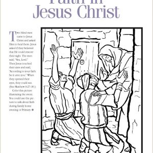 Color by Number Bible Coloring Pages