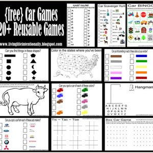 Color by Number Cars Worksheets