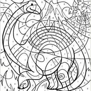 Color by Number Coloring Pages for Adults