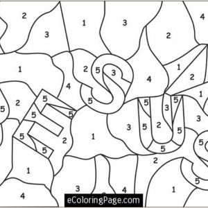 Color by Number Coloring Pages Free Online