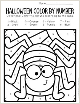 Photo of Color by Number Coloring Pages Preschool