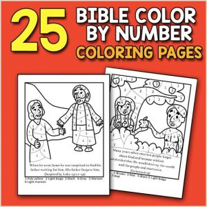 Color by Number Coloring Pages Printable