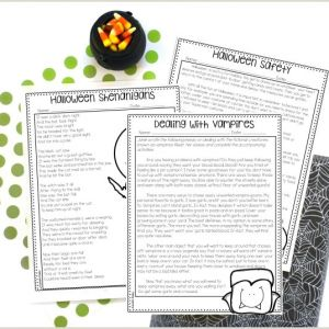 Color by Number Math Halloween Worksheets
