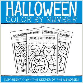 Color by Number Math Worksheets for Kindergarten