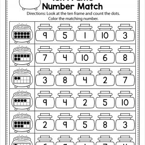 Color by Number Math Worksheets for Middle School