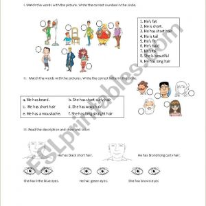 Color by Number Reading Worksheets