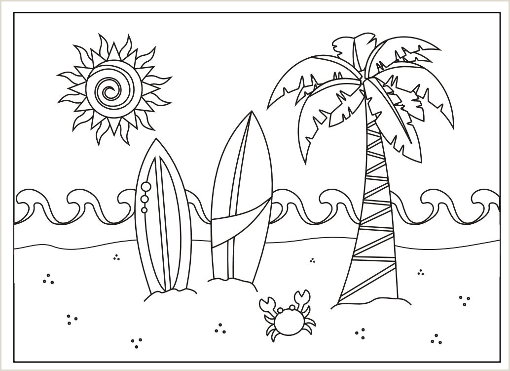 Photo of Color by Number Summer Coloring Pages