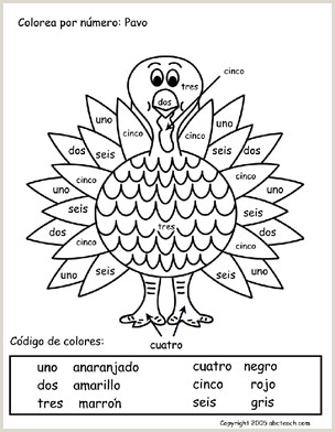 Photo of Color by Number Turkey Worksheets