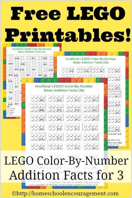 Color by Number Worksheet Addition