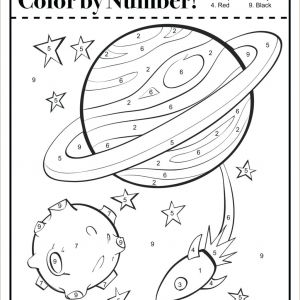 Color by Number Worksheet Generator