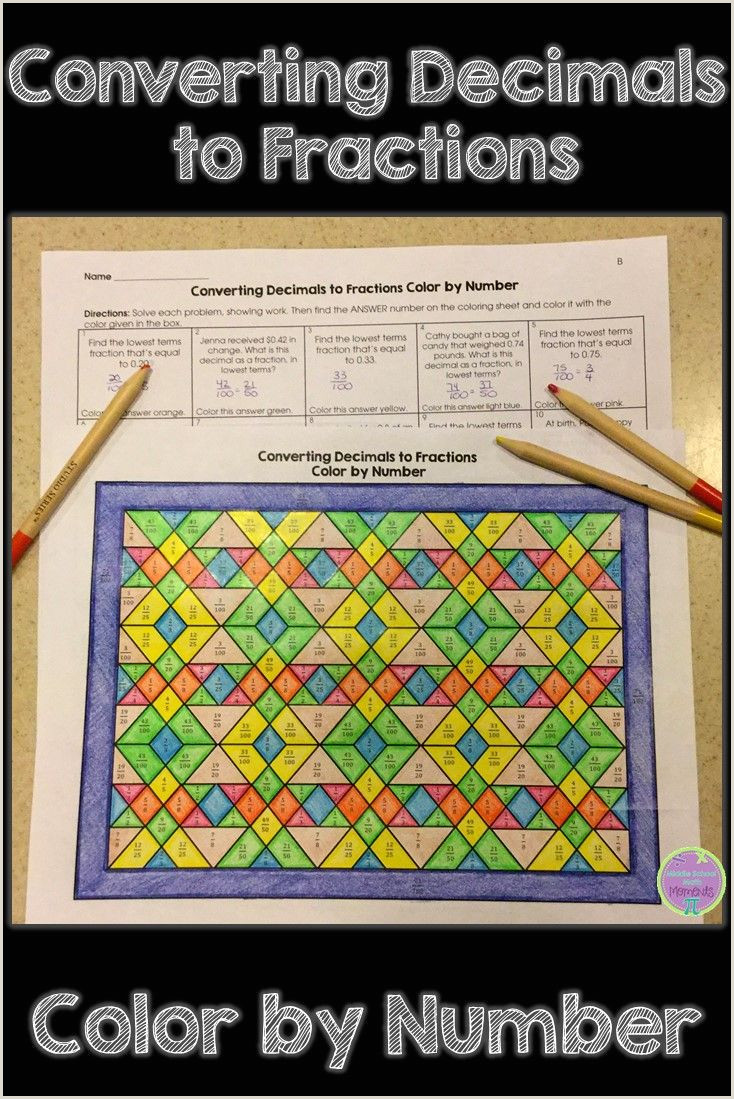 Color By Number Worksheets 5th Grade