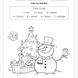 Color by Number Worksheets Addition and Subtraction