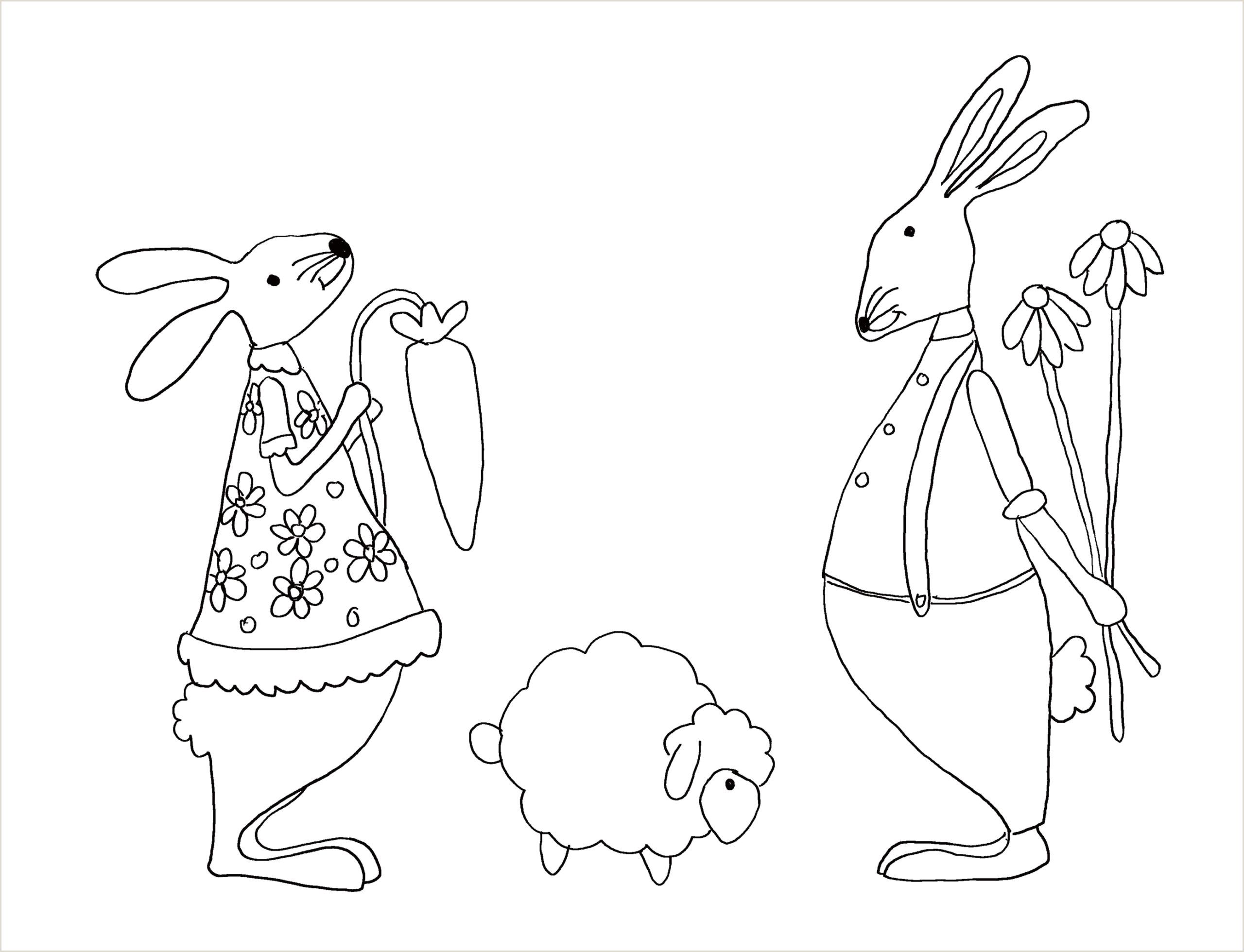 Color by Number Worksheets Easter