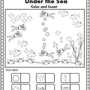 Color by Number Worksheets for 5th Grade