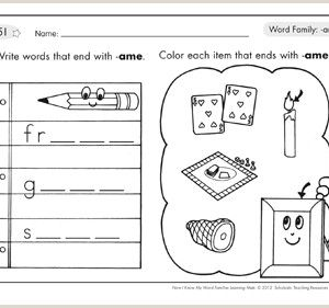 Color by Number Worksheets for Kindergarten Fall