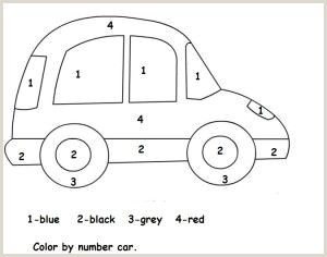 Color by Number Worksheets for Kindergarten Pdf Free