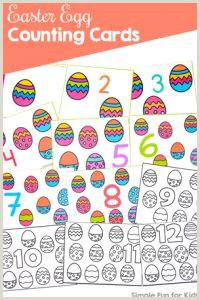 Color By Number Worksheets For Pre K