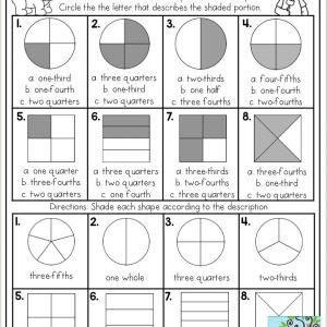 Color by Number Worksheets for Second Grade