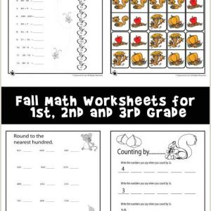 Color by Number Worksheets for Third Grade