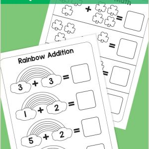 Color by Number Worksheets for toddlers