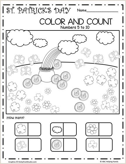 Color By Number Worksheets Free Kindergarten