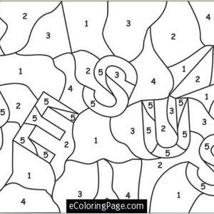 Color by Number Worksheets Free Online