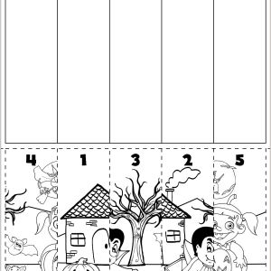 Color by Number Worksheets Halloween