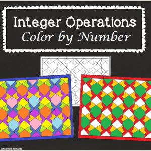 Color by Number Worksheets High School