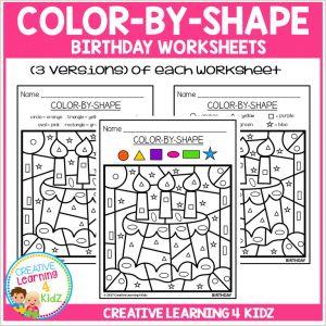 Color by Number Worksheets Online