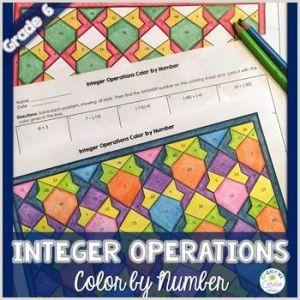 Color by Number Worksheets Pdf Free