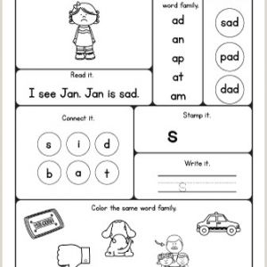 Color by Number Worksheets Pinterest