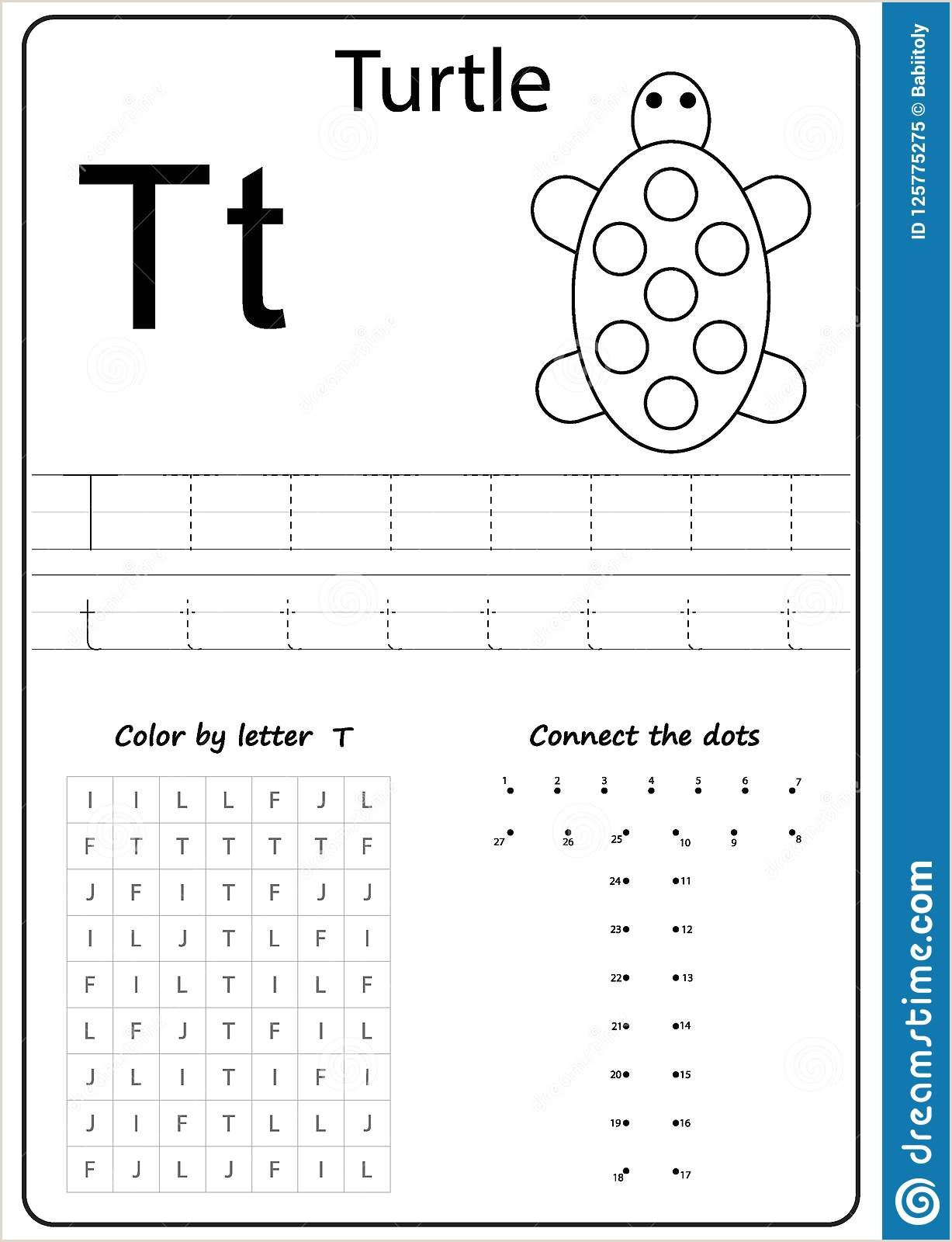 Color by Number Worksheets Prek