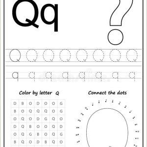 Color by Number Worksheets Squares