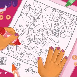 Color by Number Worksheets Summer